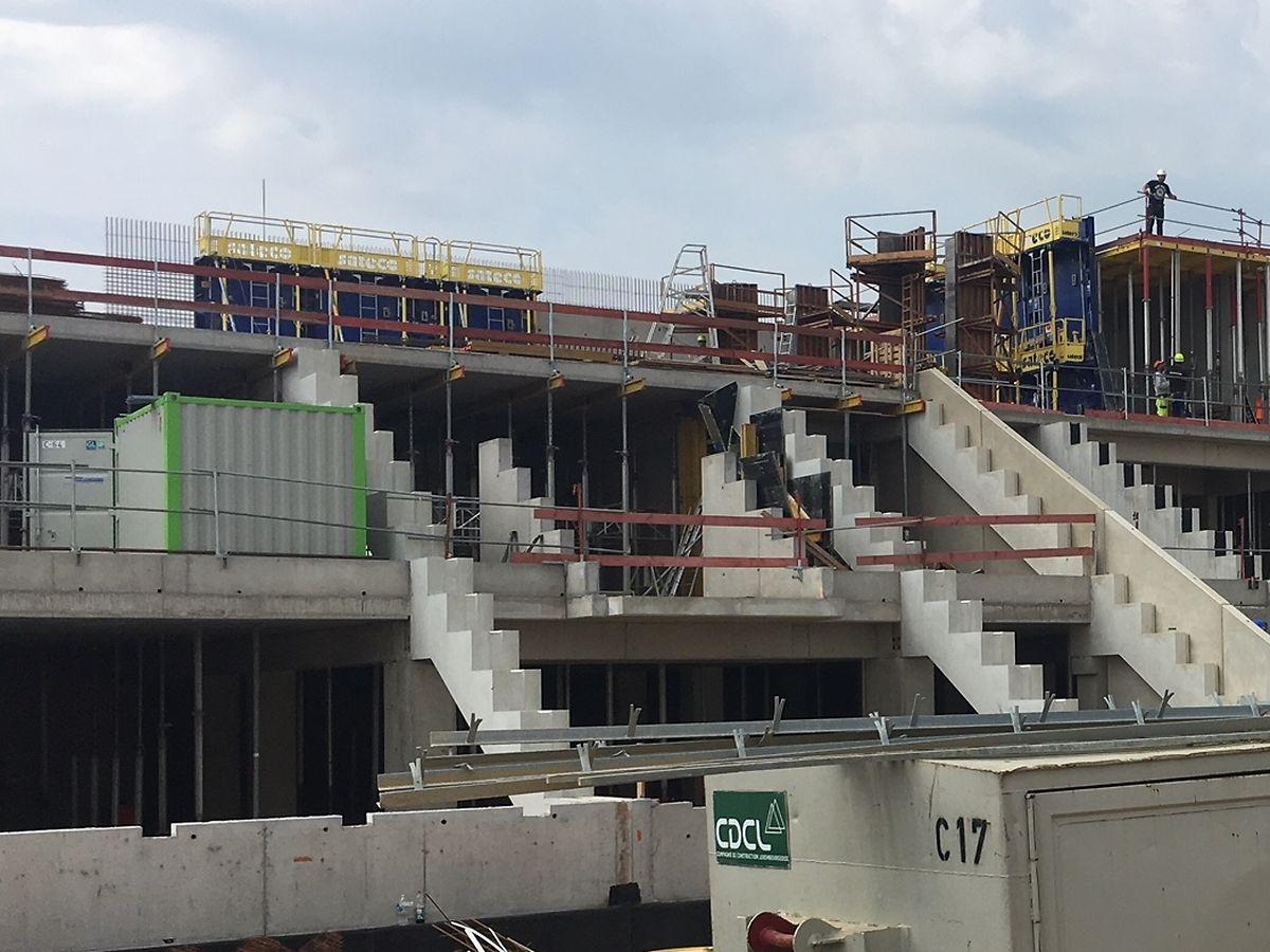 Les travaux toujours en cours se termineront fin 2019.