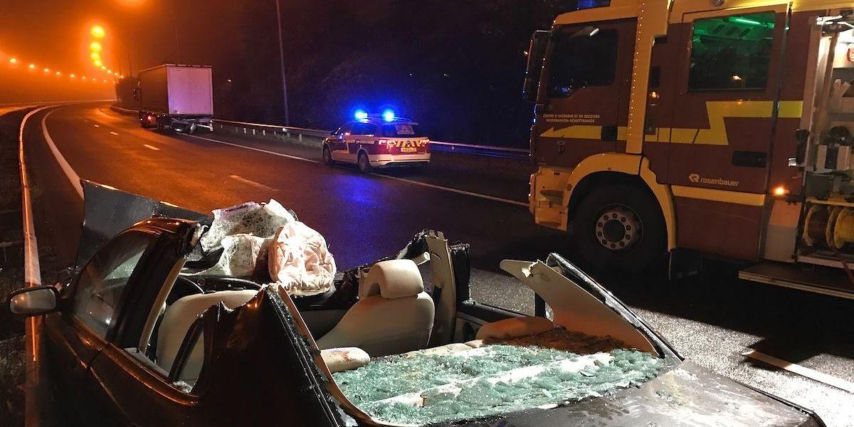 Der Fahrer überlebte den Unfall nicht.