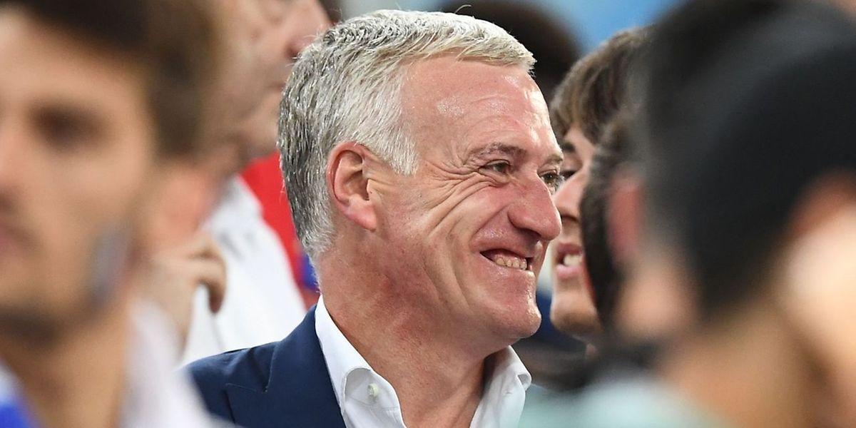 Derrière le sourire de Didier Deschamps, des choix bien sentis. Que ça plaise ou non à l'opinion publique...
