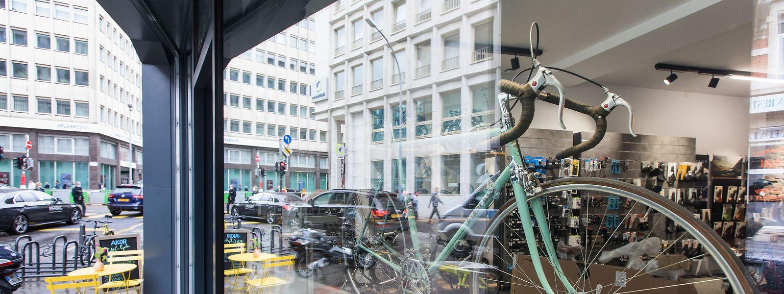 """Das Fahrrad galt lange eher als Sportgerät. Jetzt wird es wieder zum Fortbewegungsmittel, sagt Benji Kontz, Geschäftsführer von """"Cycles Arnold Kontz""""."""