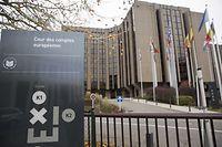Der Europäische Rechnungshof auf Kirchberg.