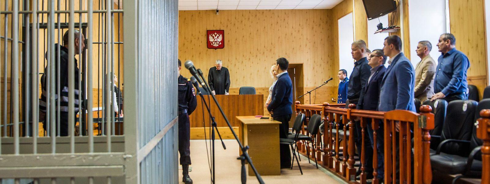 Ein Gericht in Irkutsk verkündete am Montag das Urteil.