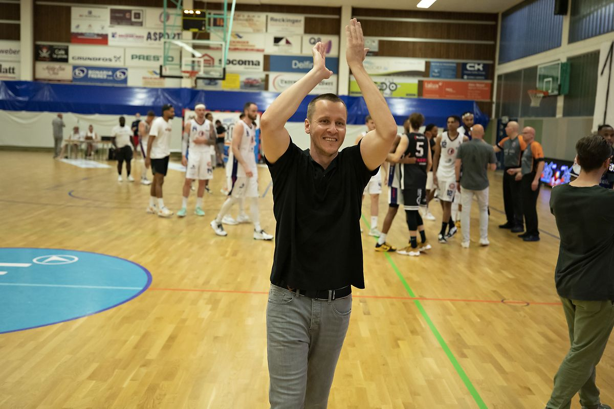 Trainer Ken Diederich wird die Düdelinger verlassen.