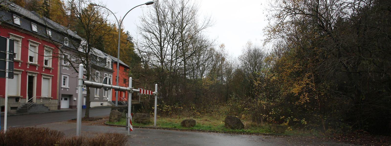 Die geplante Infrastruktur für Asylbewerber soll in Neudorf oberhalb des Parkplatzes entstehen.