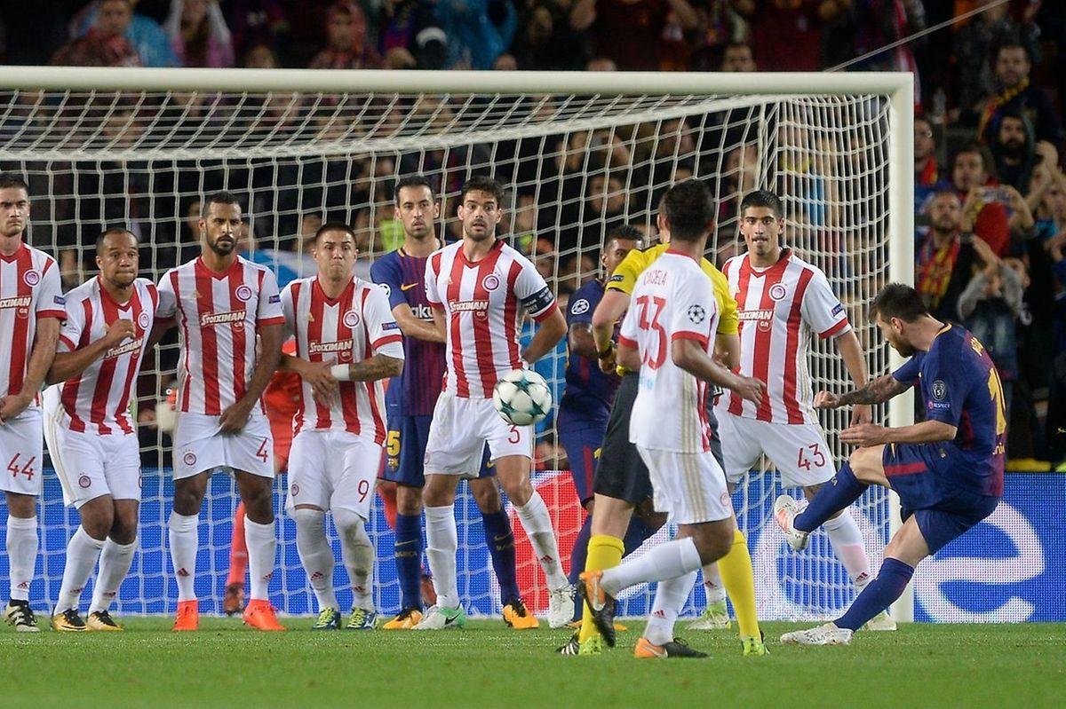 Golo de Messi