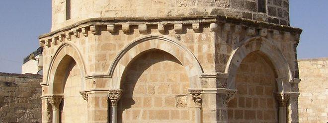 Die Himmelfahrtskapelle in Jerusalem.
