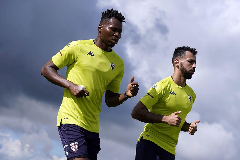 Les joueurs du FC Metz ont retrouvé les joies du terrain ce lundi.