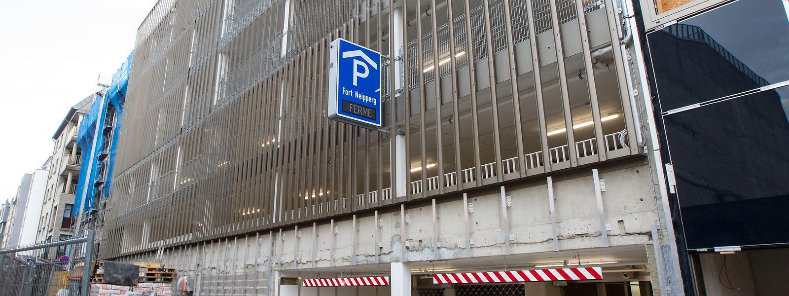 Modernisé, le parking Neipperg offrira moins de places que précédemment mais des emplacements plus larges.