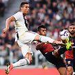Cristiano Ronaldo continua a marcar pela Juventus.