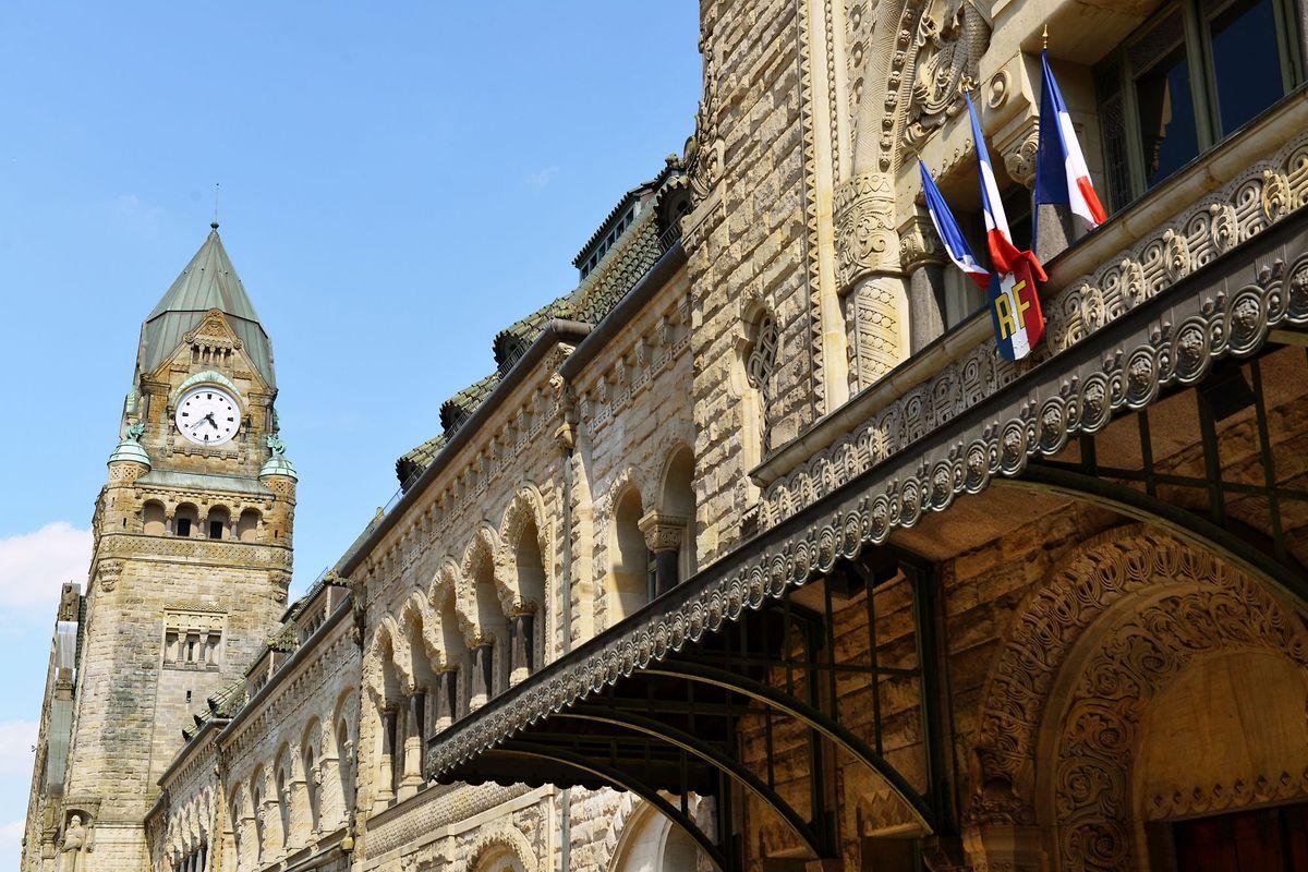 Des travaux de rénovation de la gare de Metz ont pris fin en 2015
