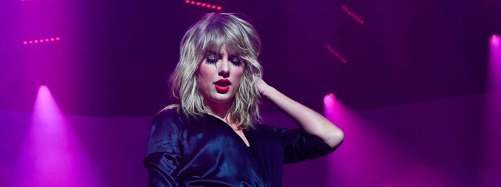 Les revenus de Taylor Swift sont estimés à 164 millions d'euros pour l'année 2019.