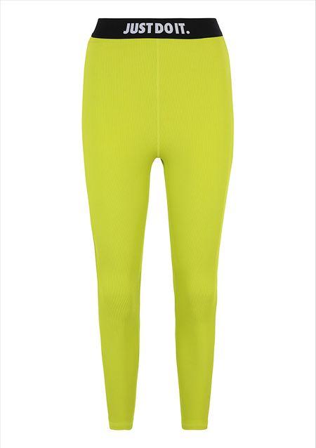 Limonengelbe Leggings von Nike, um 50 Euro über Zalando.lu