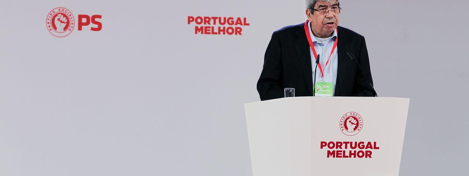 Ferro Rodrigues, intervém durante o segundo dia do 22º Congresso Nacional do Partido Socialista, Batalha, 26 de maio de 2018. PAULO CUNHA/LUSA
