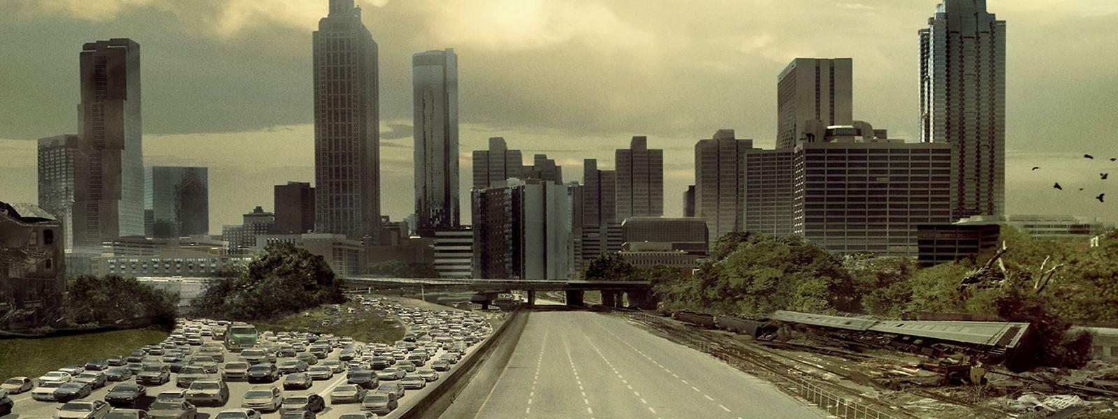 """Dystopie auf der Mattscheibe: """"The Walking Dead"""" und andere Filme und Serien prägen unsere Sicht auf die Krisen, wenn sie real werden."""