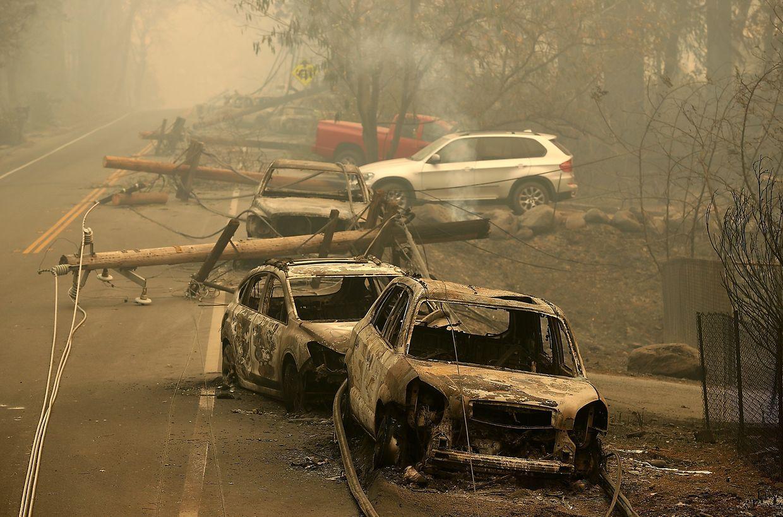 25 Personen haben die verheerenden Brände in Kalifornien nicht überlebt.