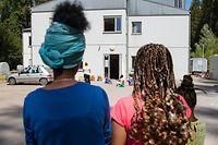 Flüchtlinge,Flüchtlingsheim,Foyer pour refugiés,ici:Marienthal.Foto:Gerry Huberty