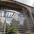 31.7. Renovierung Pont Adolphe / Errichten des Geruestes zwecks Renovierung Foto: Guy Jallay