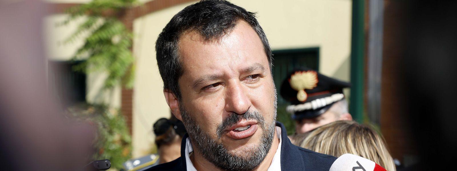 Le ministre de l'Intérieur italien, Matteo Salvini, a encore joué une partie de bras de fer avec ses partenaires européens