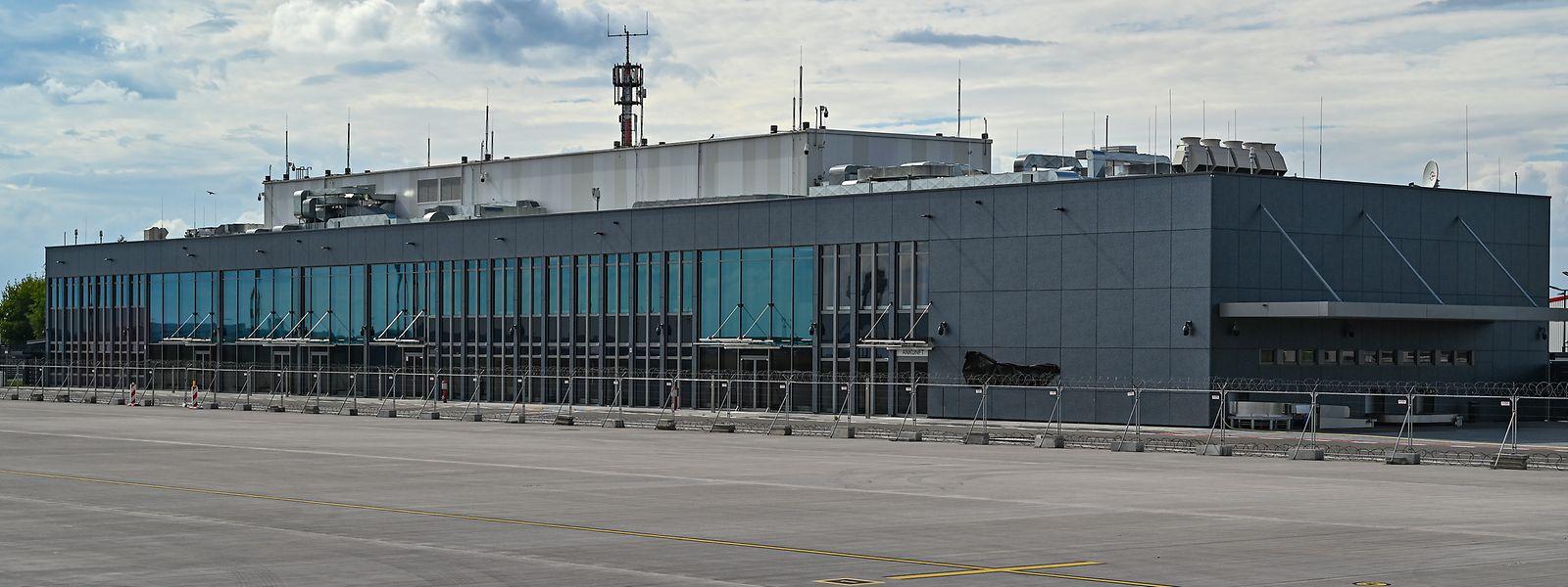 """Der neue Regierungsterminal am Flughafen Berlin-Brandenburg Airport """"Willy Brandt"""" (BER)."""