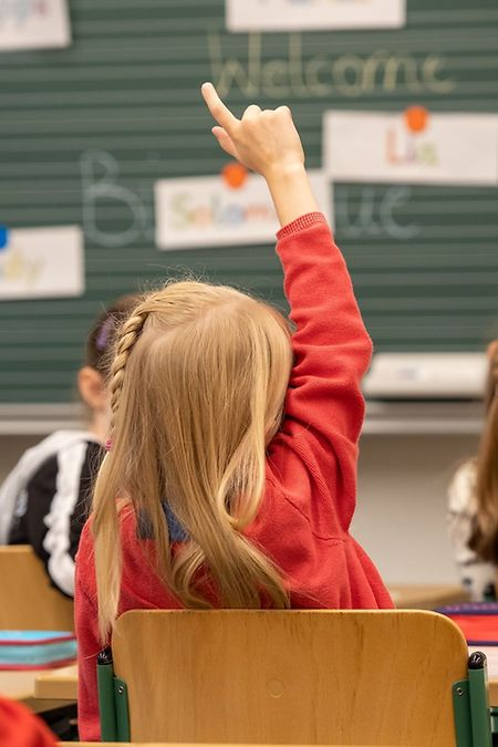 Rentrée ohne Maske im Unterricht.