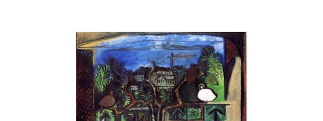 """Das Gemälde """"Paysage de Cannes au crépuscule"""" entstand 1960."""