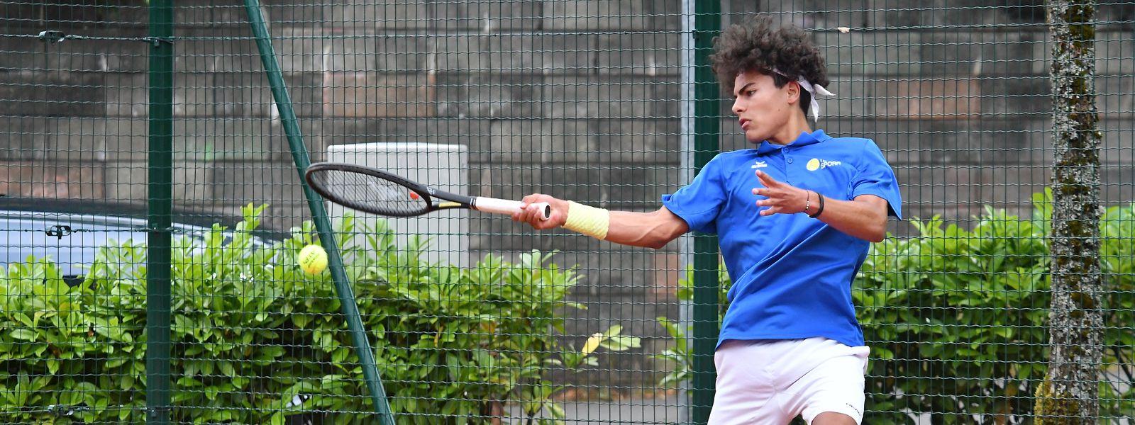 Marlon Vankan holte mit Laurent Olivier Daxhelet den entscheidenden Punkt im Doppel für Spora.