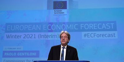 Paolo Gentiloni, the EU's economic affairs commissioner, says the bloc's fiscal policy needs to be adapted