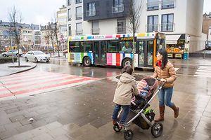 """Fotoen Stroosbuerger Stroos """"Motto Quartier Populaire"""", Foto Lex Kleren"""