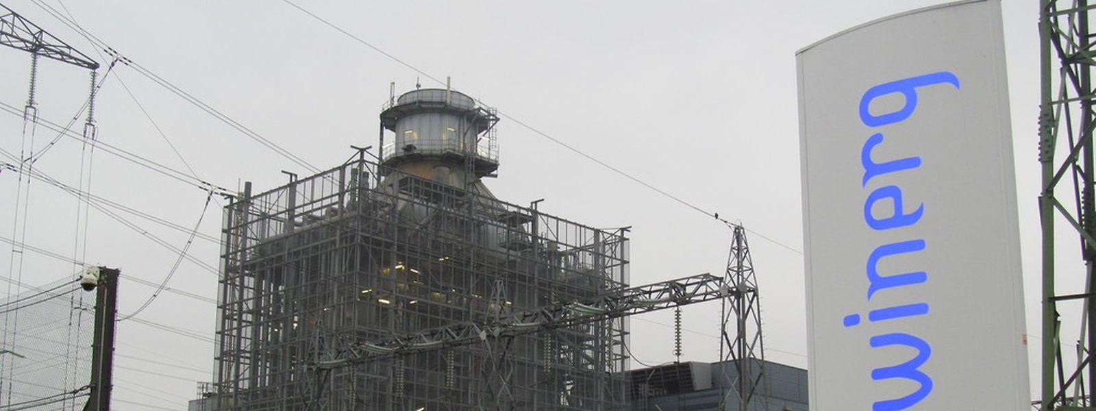 Das Gas- und Dampfturbinenkraftwerk Twinerg in Esch.