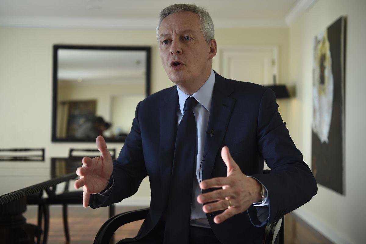 Bruno Le Maire, ministre français de l'Economie et des Finances: «Nous refusons de négocier avec un pistolet sur la tempe».