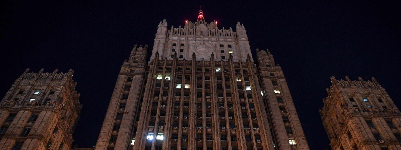 Das russische Außenministerium in Moskau.