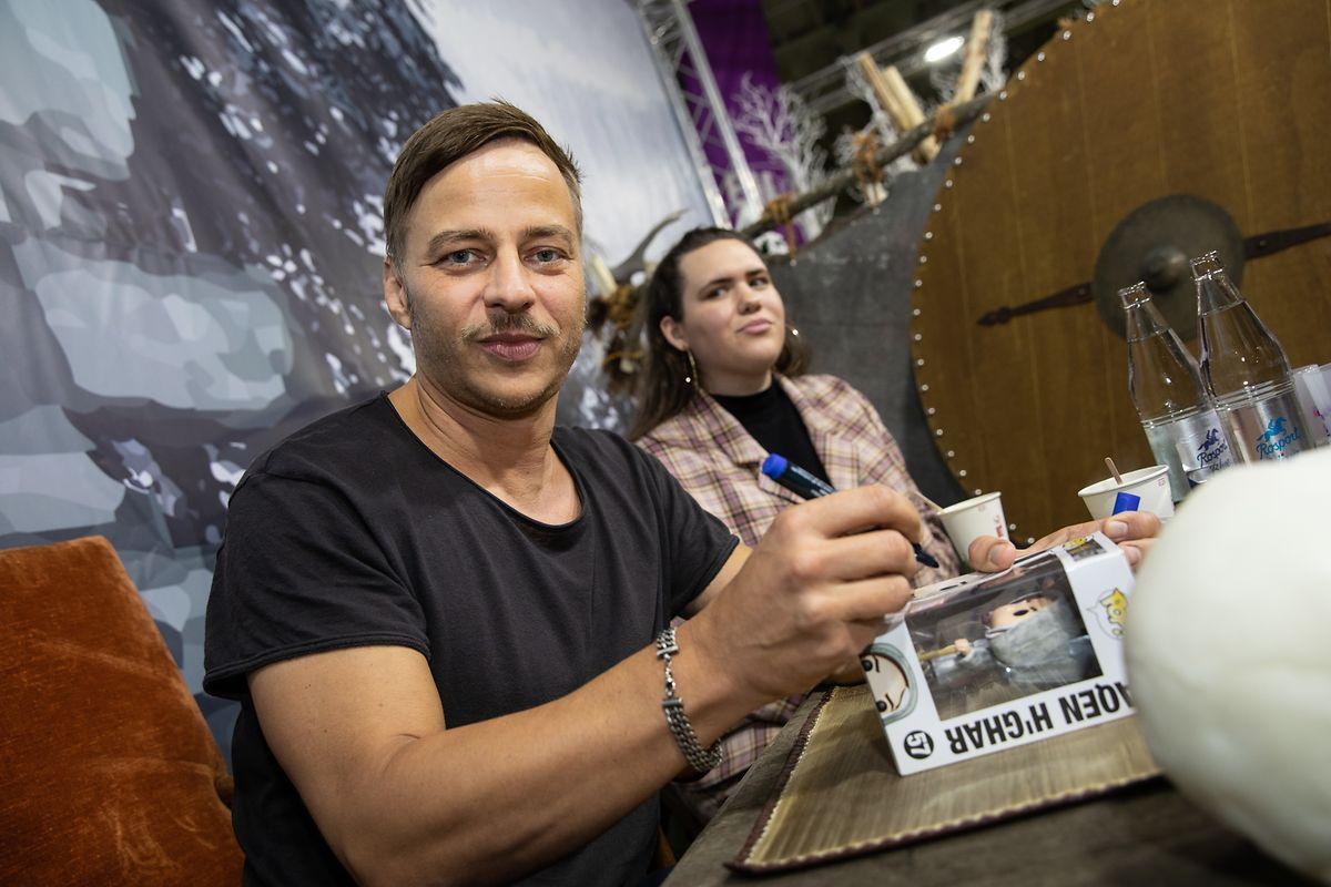Tom Wlaschiha participe à de nombreuses conventions sur l'univers de Game of Thrones.