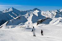 Ischgl Österreich Schnee Ski