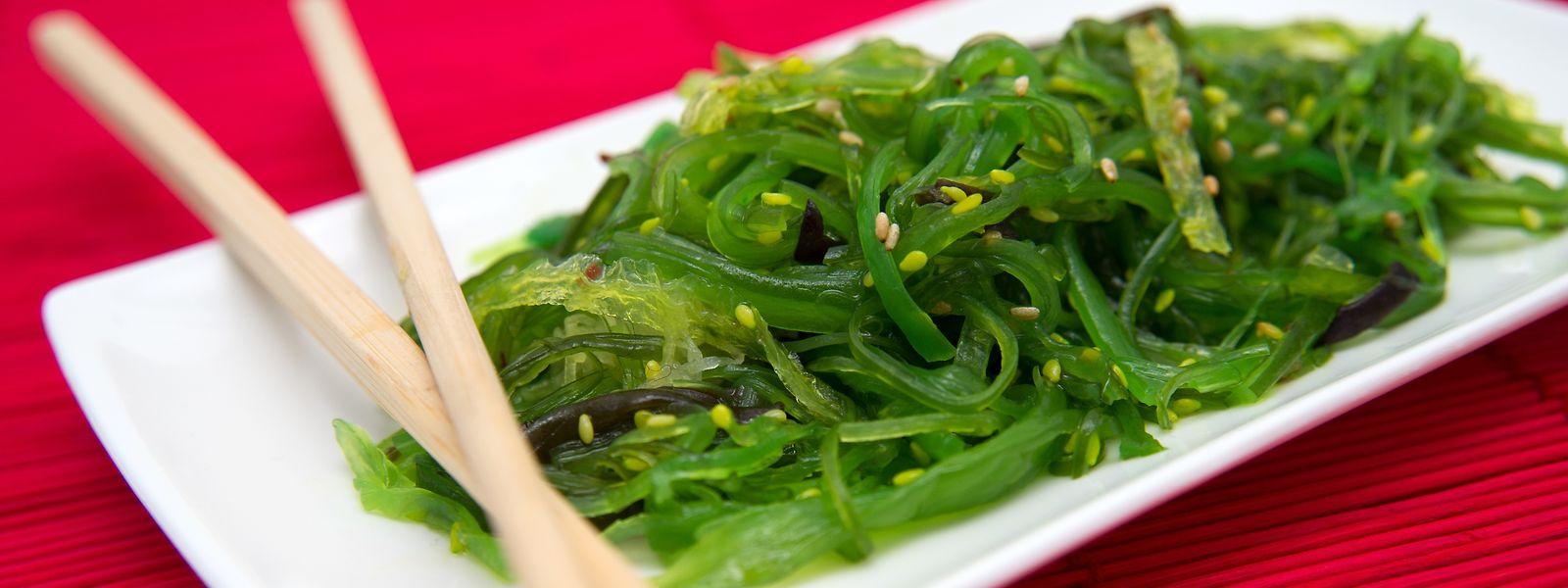 Wakame-Salat hat sich vor allem als Beilage zu Sushi in japanischen Restaurants auch hierzulande durchgesetzt.