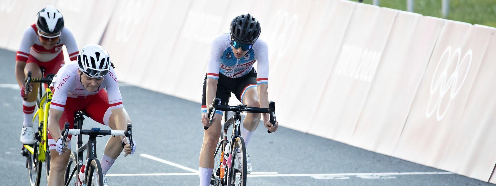 Dimanche lors de la course en ligne sur route, la cycliste de 34 ans s'était classée 20e sur 48.