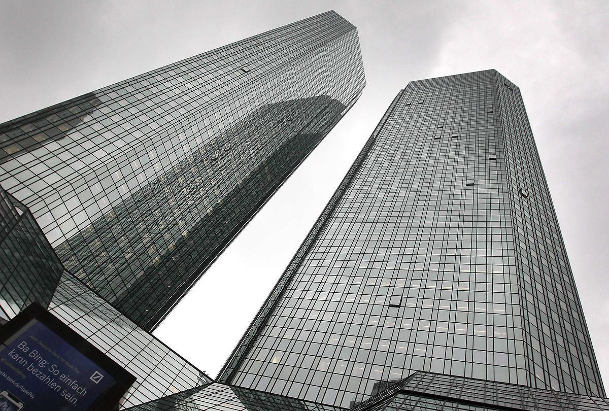 The case is related to searches of Deutsche Bank in November Photo: AFP