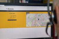 Lok , App GouvAlert , Infoapp für Notsituationen, Regierung Luxemburg, CGDIS , 112 , Foto:Guy Jallay/Luxemburger Wort