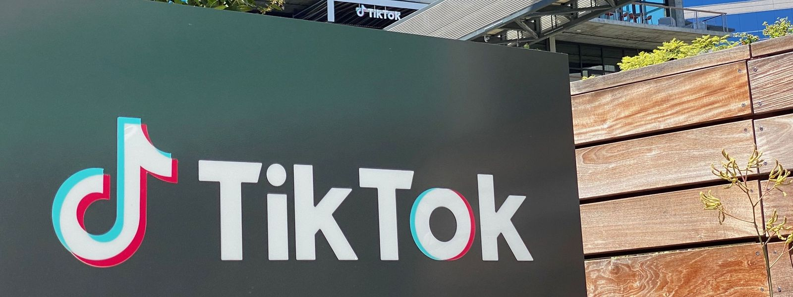 Eine Niederlassung von TikTok in Los Angeles.