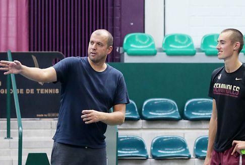 Alex Knaff: Über die Armee zum Tennisprofi