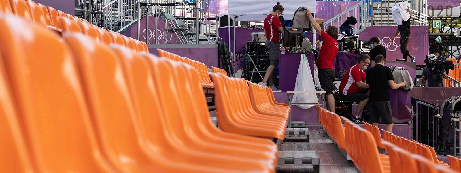 Jogos Olímpicos deste ano, em Tóquio, não terão público nas bancadas devido à pandemia.