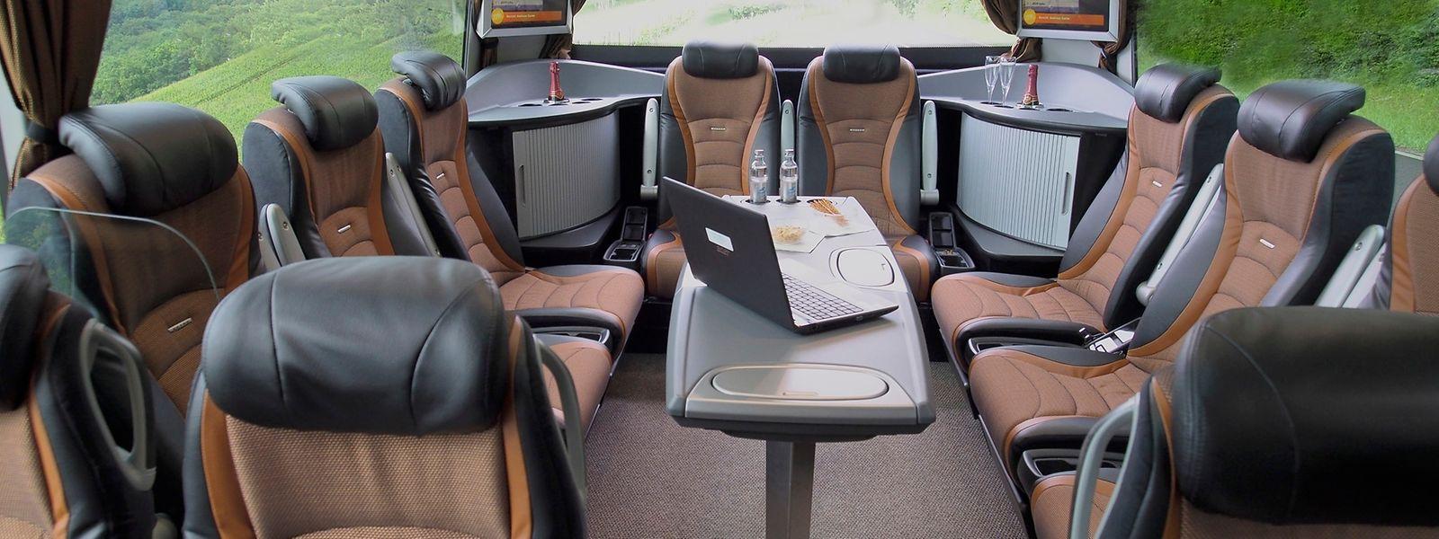 Aussi beaux soient-ils, les autobus luxembourgeois ont plus connu les dépôts que les routes ces derniers mois.