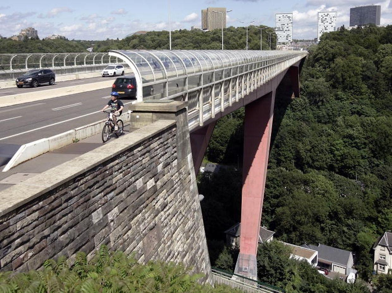 Le pont grande-duchesse Charlotte va être élargi de 50 cm pour pourvoir laisser circuler le tram