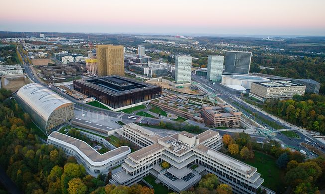 EPPO operates from Luxembourg City's Kirchberg district
