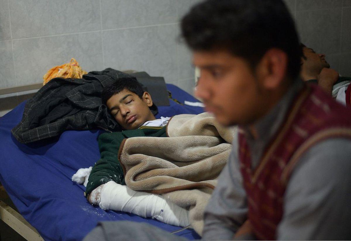 Mehr als 250 Kinder wurden verletzt.