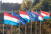 12.10. Gelle Fra / Fahne Luxemburg / Identität / Nation / Nationalität / Luxemburg / Letzebuerg Foto.Guy Jallay