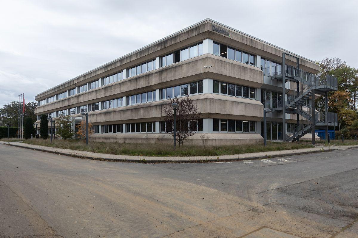 Dieses Gebäude gegenüber der Polizeizentrale nahe des Findel soll ab dem 1. April 2021 als neue Polizeischule dienen.
