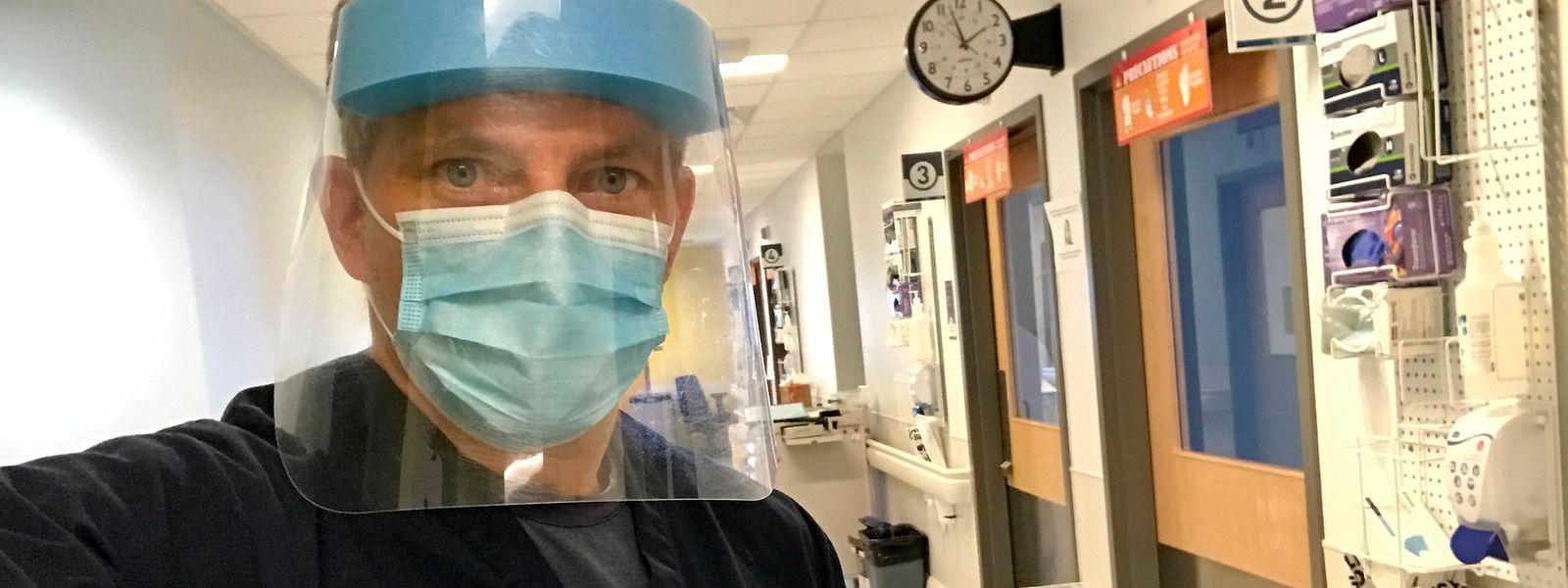 David Saint-Jacques hat in den vergangenen zehn Jahren einiges verpasst: Er sieht daher seine jetzige Anstellung im Krankenhaus als eine Art Lehrzeit an.