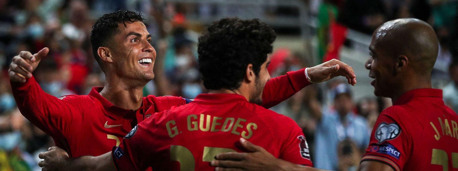 Deux penaltys réussis et un tir au but rentré, Cristiano Ronaldo n'a pas manqué le rendez-vous luxembourgeois.