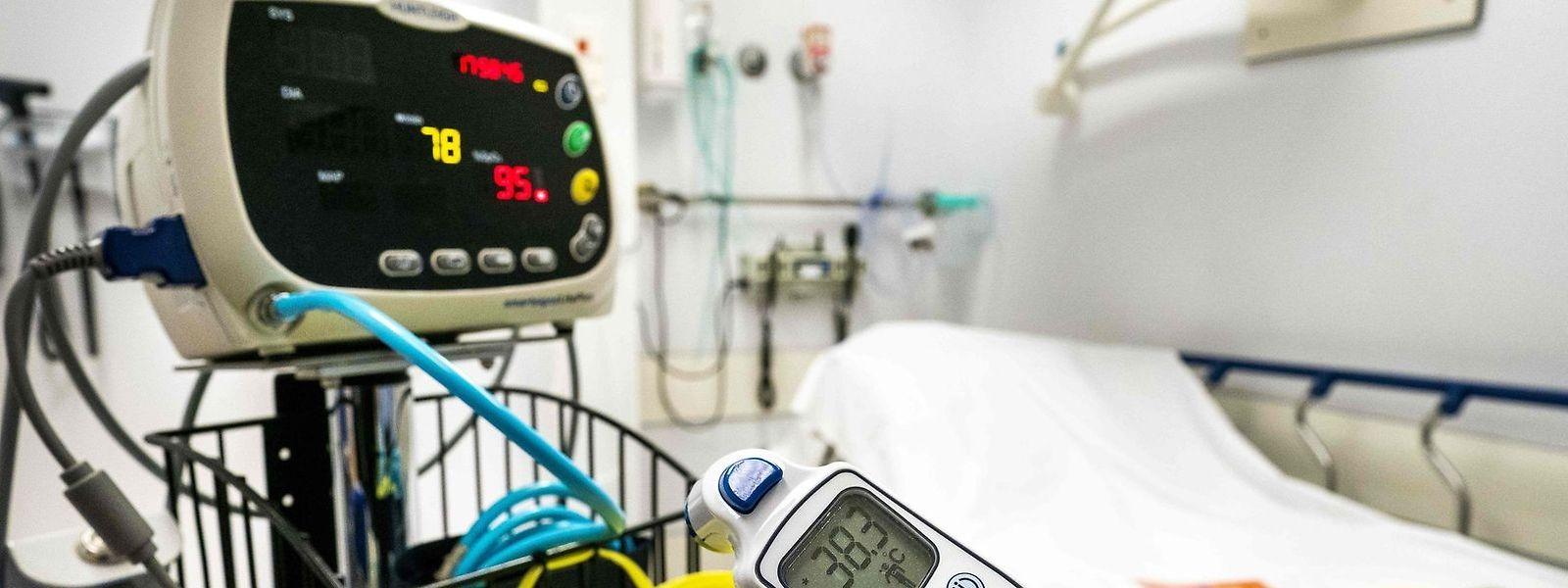 Le patient hospitalisé au CFL samedi n'était pas atteint par le coronavirus.