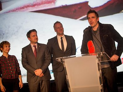 Martin Zandvliet (à droite) et son film «Land of Mine»